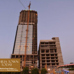 Bahria Town Icon Karachi Latest Progress Update – November 2015