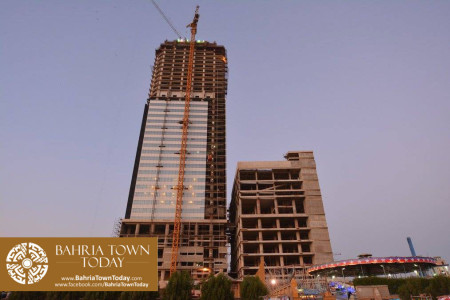 Bahria Town Icon Karachi Latest Progress Update - November 2015 (8)