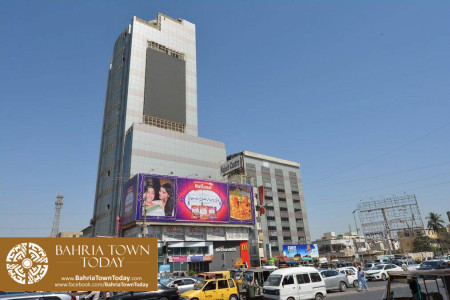 Bahria Town Tower Karachi (Tariq Road) Latest Progress Update - November 2015 (2)