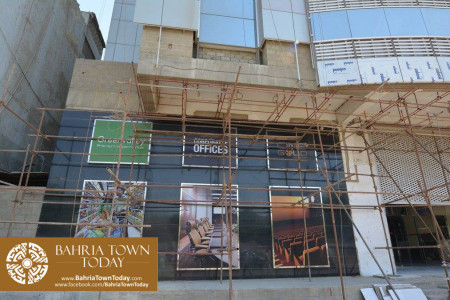 Bahria Town Tower Karachi (Tariq Road) Latest Progress Update - November 2015 (4)
