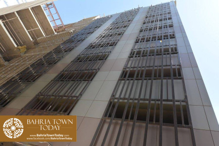 Bahria Town Tower Karachi (Tariq Road) Latest Progress Update - November 2015 (5)