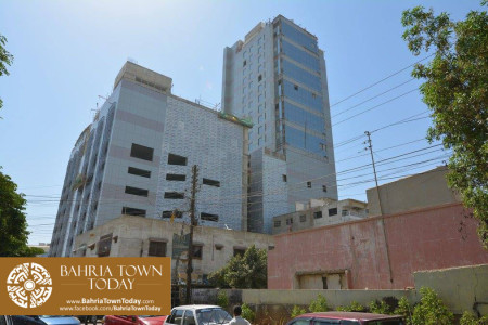 Bahria Town Tower Karachi (Tariq Road) Latest Progress Update - November 2015 (6)