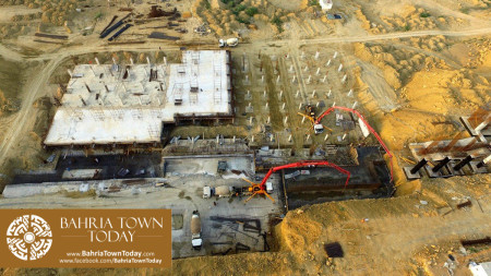 Site Work Progress at Grand Jamia Masjid - Bahria Town Karachi (10)