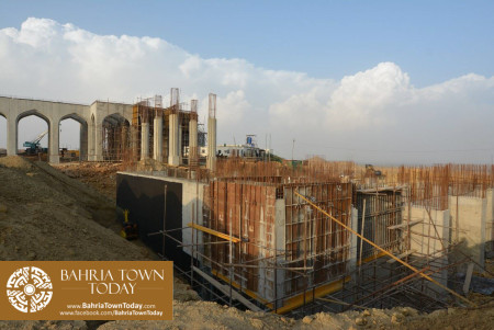 Site Work Progress at Grand Jamia Masjid - Bahria Town Karachi (11)