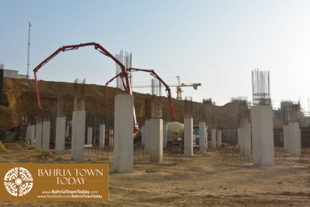 Site Work Progress at Grand Jamia Masjid - Bahria Town Karachi (12)