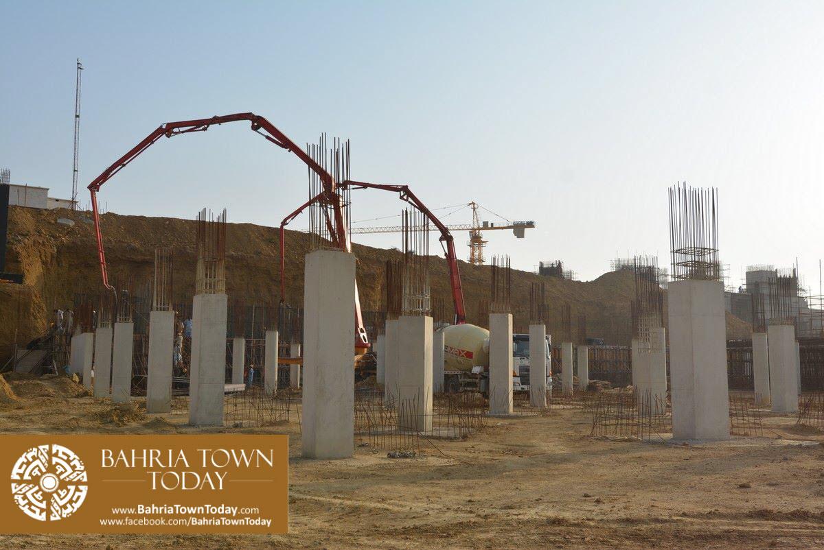 Site Work Progress at Grand Jamia Masjid – Bahria Town Karachi (12)