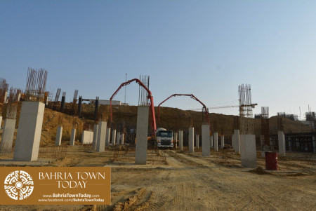 Site Work Progress at Grand Jamia Masjid - Bahria Town Karachi (13)