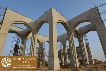 Site Work Progress at Grand Jamia Masjid - Bahria Town Karachi (14)
