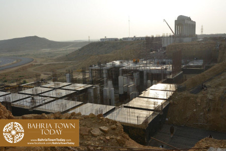 Site Work Progress at Grand Jamia Masjid - Bahria Town Karachi (3)