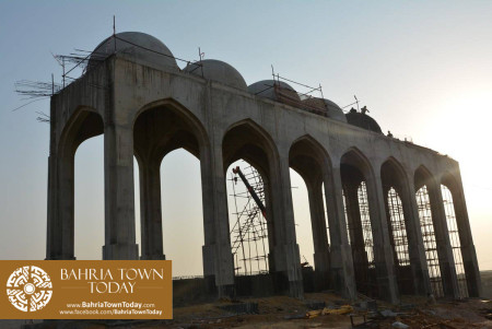 Site Work Progress at Grand Jamia Masjid - Bahria Town Karachi (5)