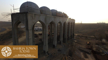 Site Work Progress at Grand Jamia Masjid - Bahria Town Karachi (6)