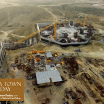 Site Work Progress at Grand Jamia Masjid – Bahria Town Karachi