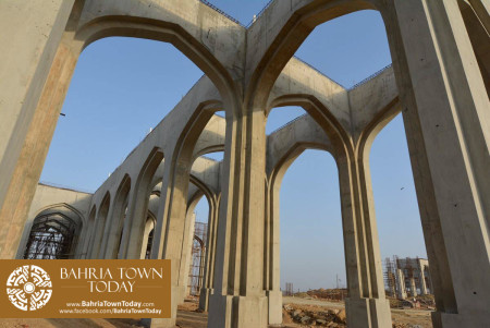 Site Work Progress at Grand Jamia Masjid - Bahria Town Karachi (8)