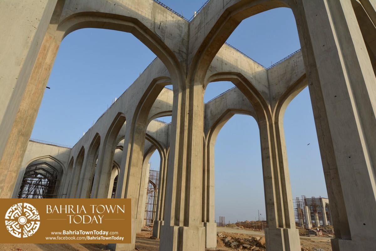 Site Work Progress at Grand Jamia Masjid – Bahria Town Karachi (8)
