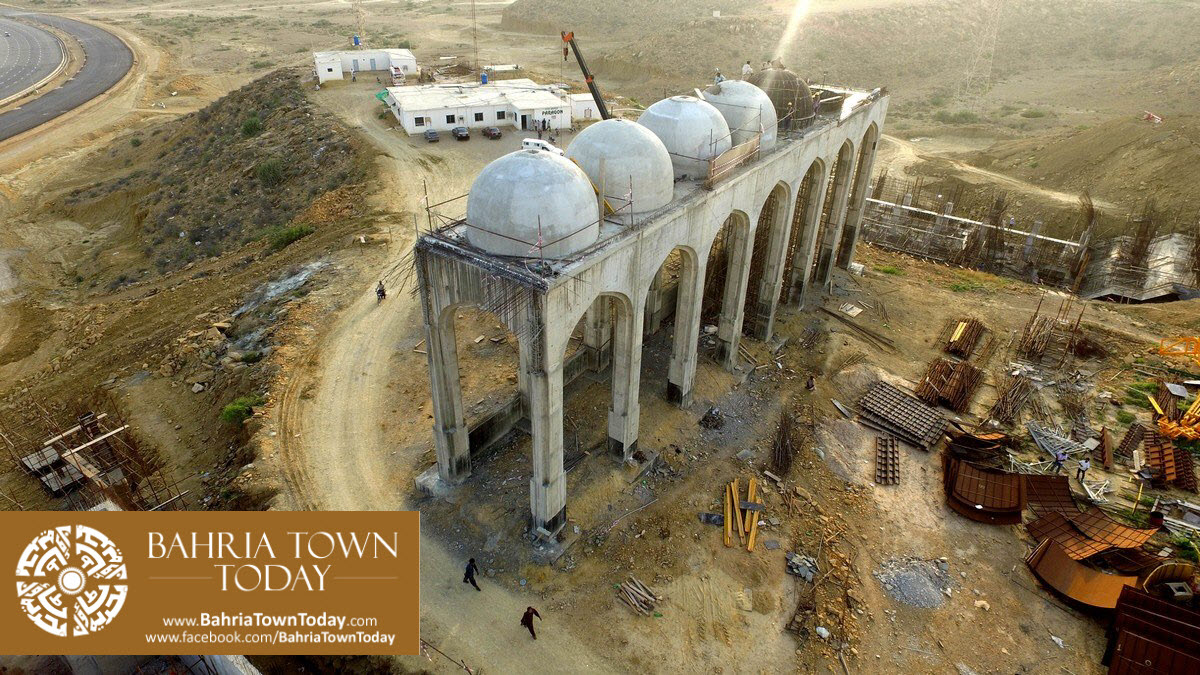 Site Work Progress at Grand Jamia Masjid – Bahria Town Karachi (9)