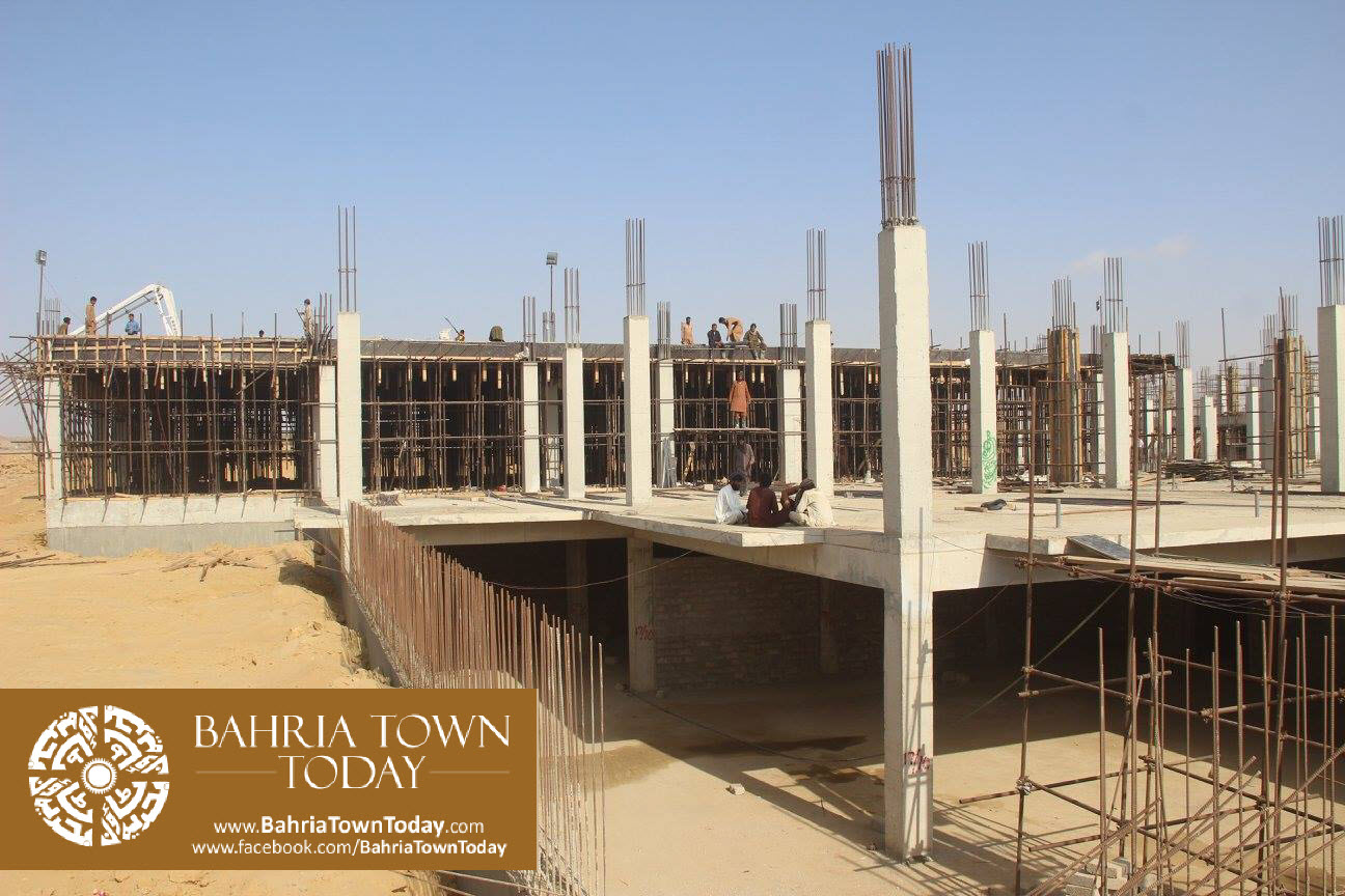 Bahria Town Karachi Latest Progress Update – February 2016 (12)