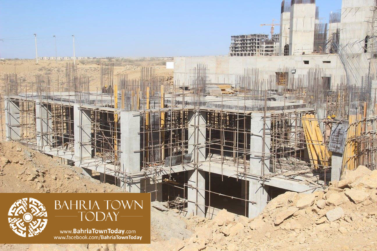 Bahria Town Karachi Latest Progress Update – February 2016 (13)