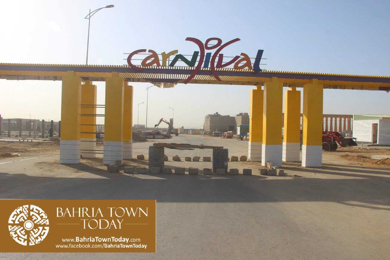 Bahria Town Karachi Latest Progress Update – February 2016 (14)