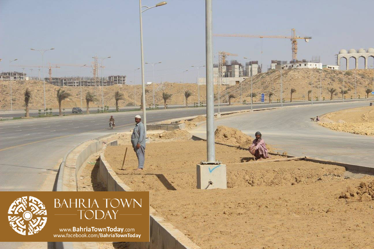 Bahria Town Karachi Latest Progress Update – February 2016 (17)