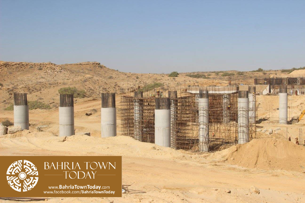 Bahria Town Karachi Latest Progress Update – February 2016 (18)