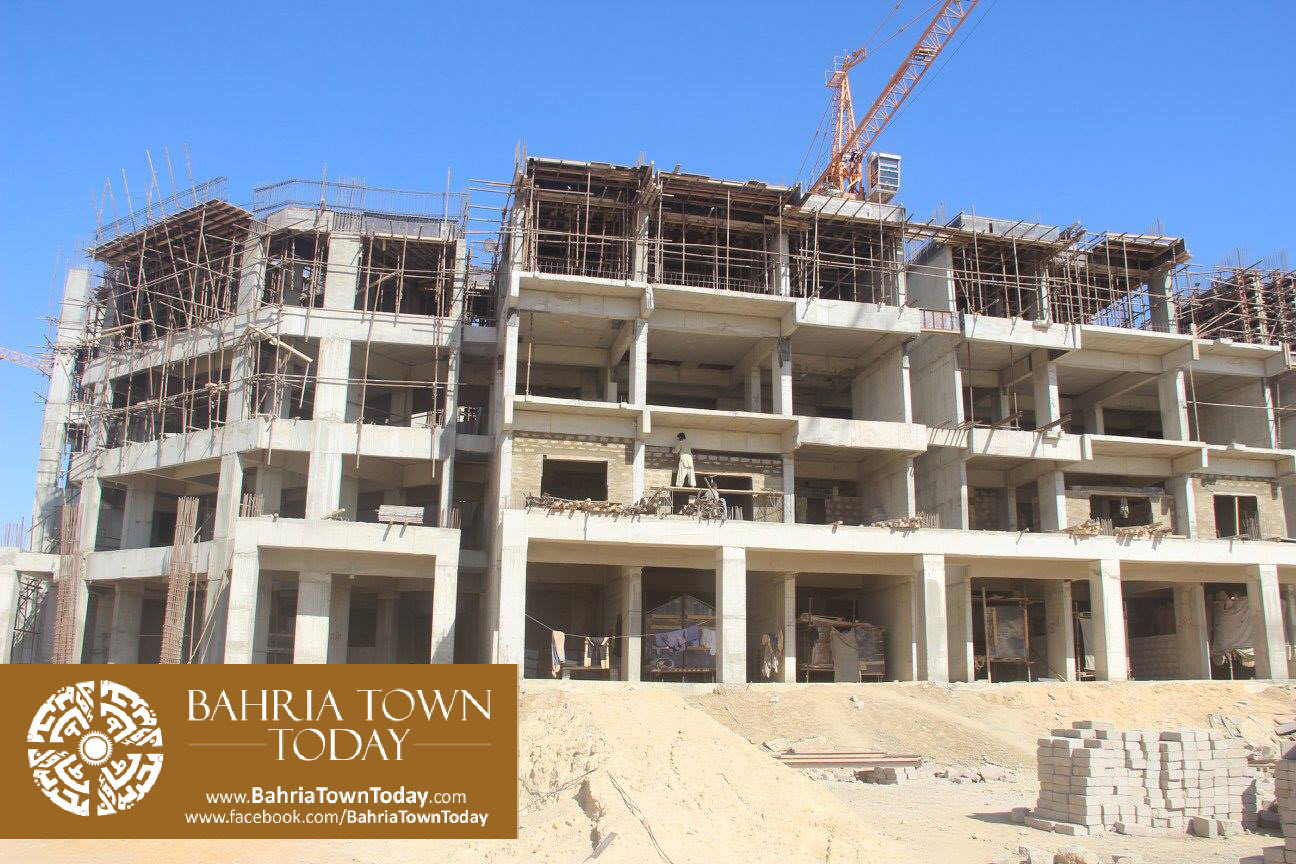 Bahria Town Karachi Latest Progress Update – February 2016 (19)