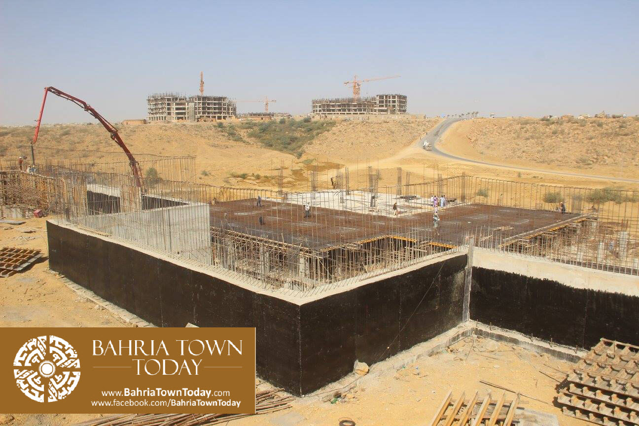 Bahria Town Karachi Latest Progress Update – February 2016 (2)