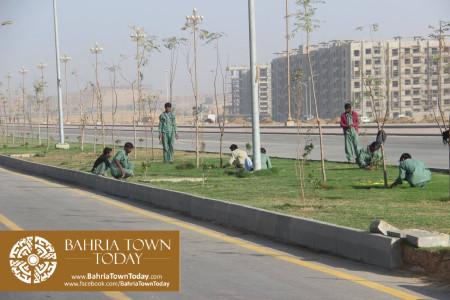 Bahria Town Karachi Latest Progress Update - February 2016 (20)