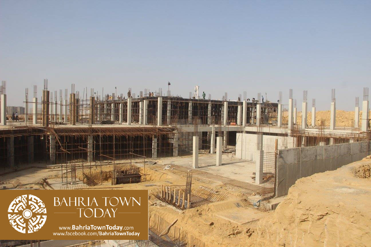 Bahria Town Karachi Latest Progress Update – February 2016 (23)