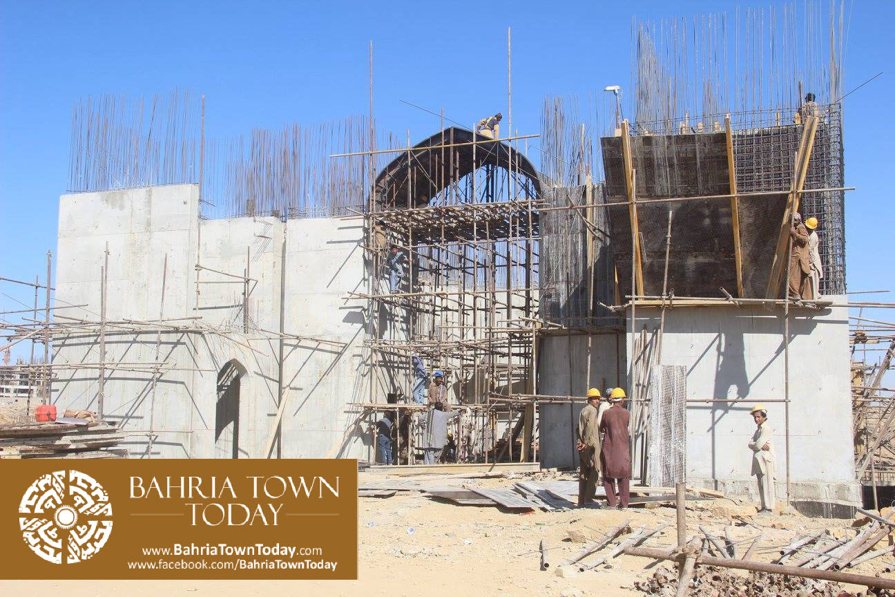 Bahria Town Karachi Latest Progress Update – February 2016 (28)
