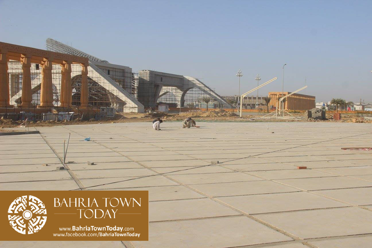 Bahria Town Karachi Latest Progress Update – February 2016 (36)