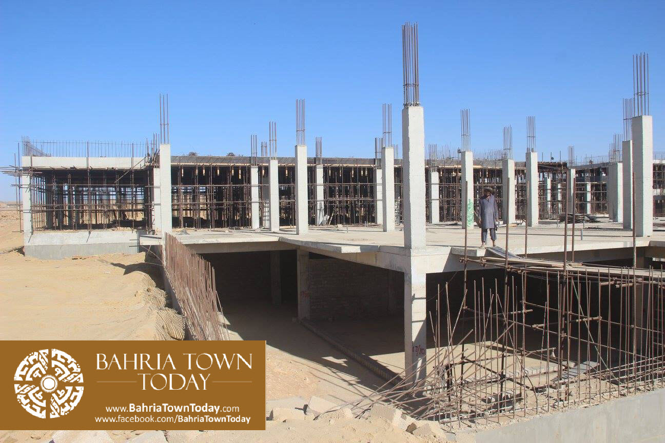 Bahria Town Karachi Latest Progress Update – February 2016 (43)