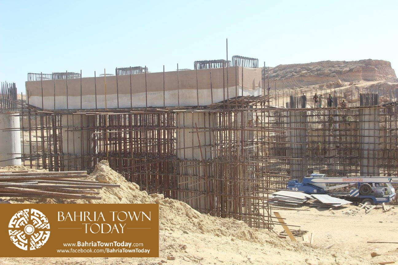 Bahria Town Karachi Latest Progress Update – February 2016 (45)