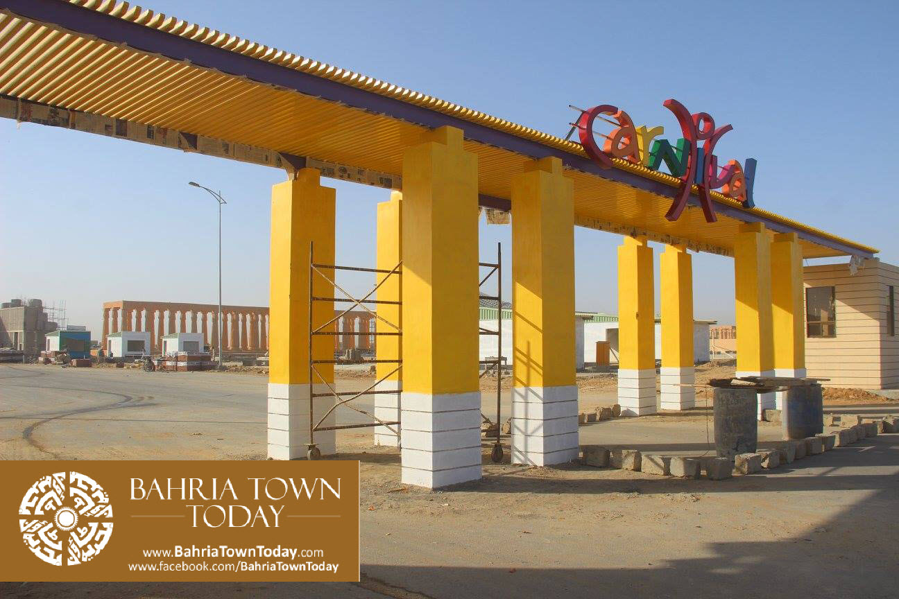 Bahria Town Karachi Latest Progress Update – February 2016 (46)