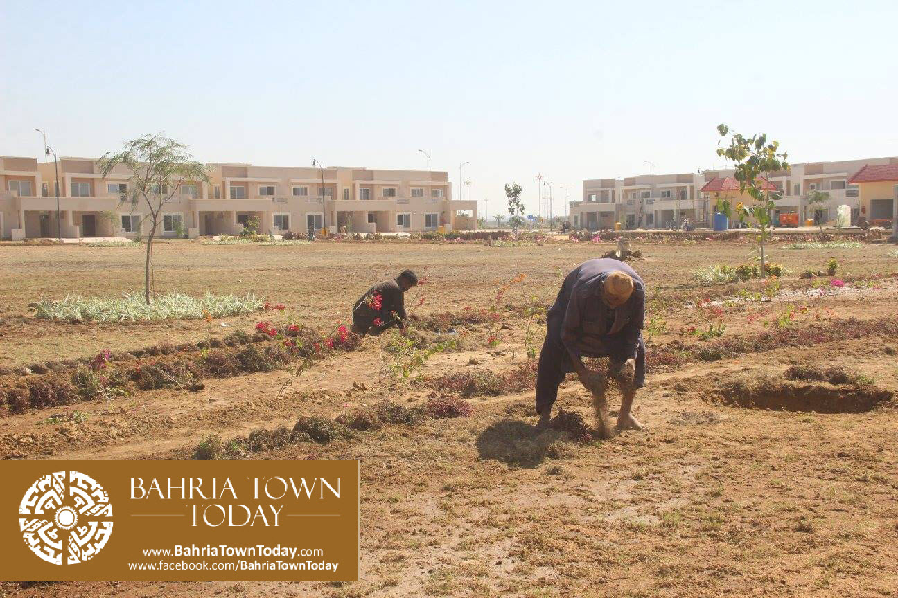 Bahria Town Karachi Latest Progress Update – February 2016 (49)
