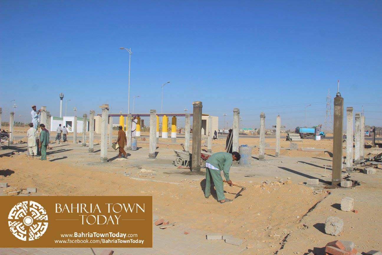 Bahria Town Karachi Latest Progress Update – February 2016 (52)