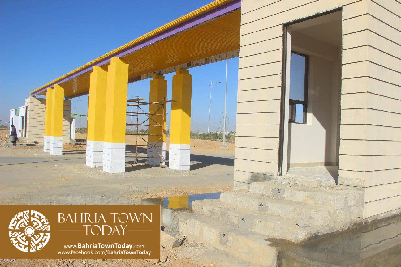 Bahria Town Karachi Latest Progress Update – February 2016 (54)
