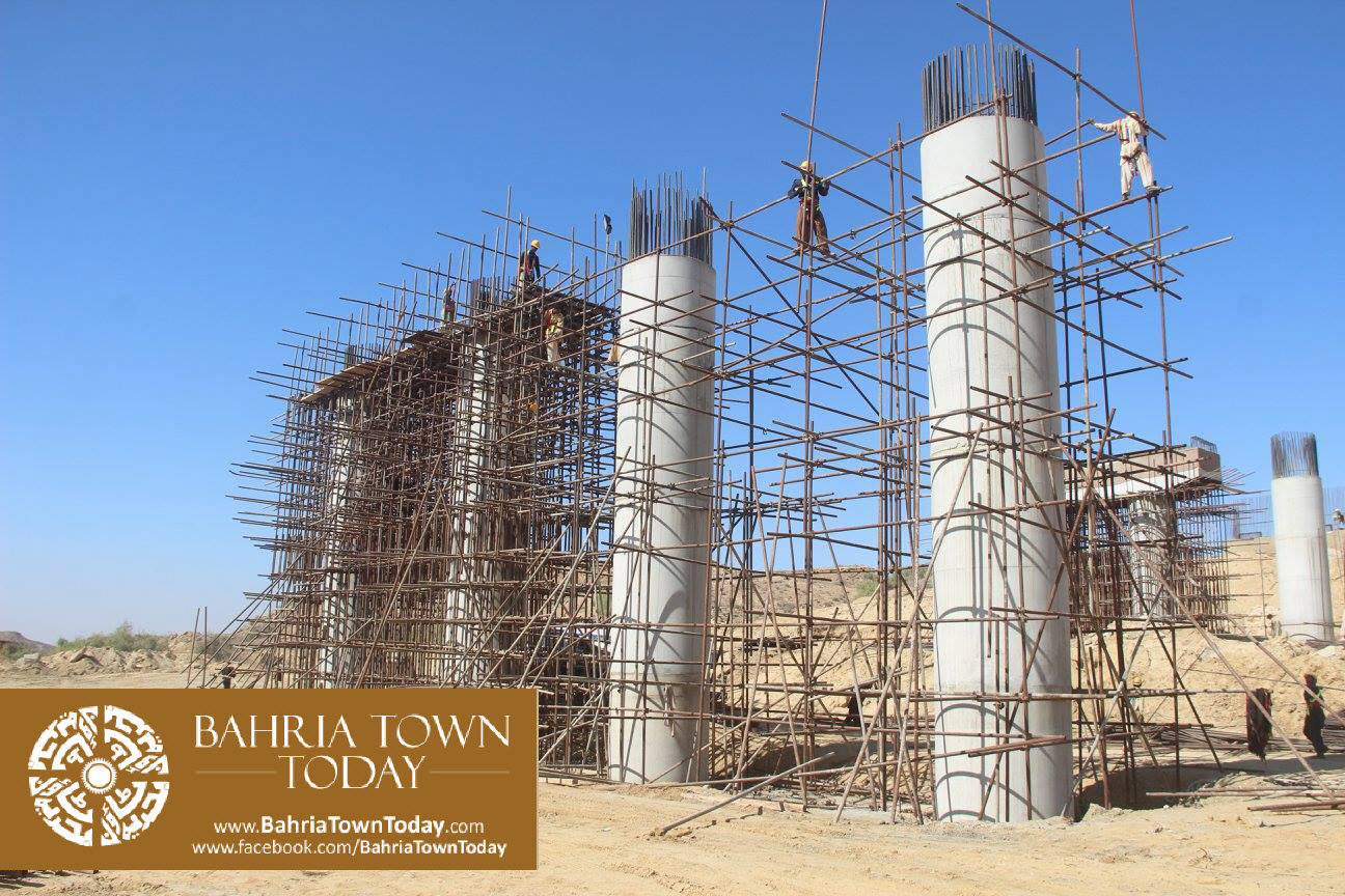 Bahria Town Karachi Latest Progress Update – February 2016 (55)