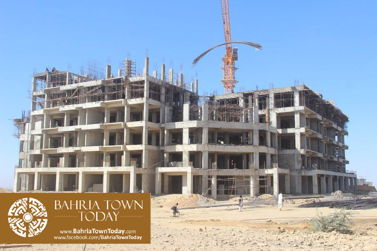 Bahria Town Karachi Latest Progress Update – February 2016 (56)