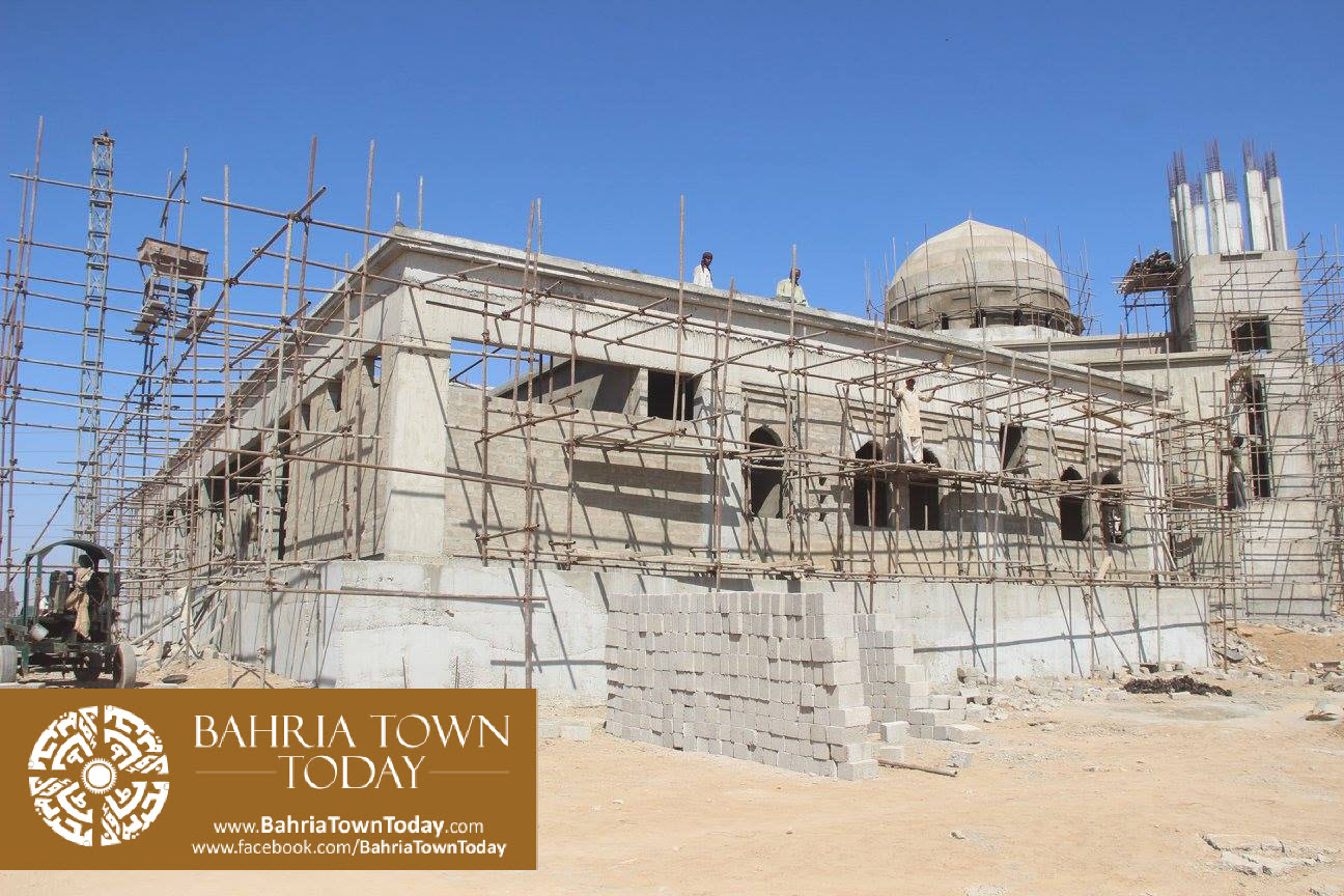 Bahria Town Karachi Latest Progress Update – February 2016 (58)