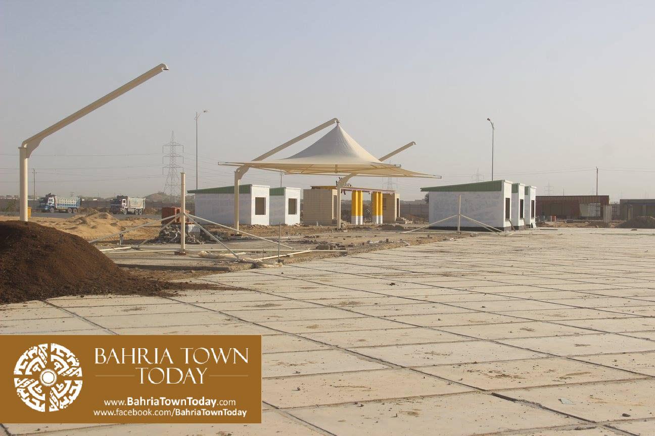 Bahria Town Karachi Latest Progress Update – February 2016 (62)