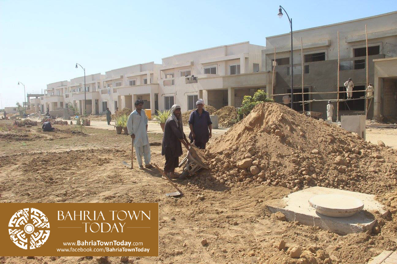 Bahria Town Karachi Latest Progress Update – February 2016 (8)