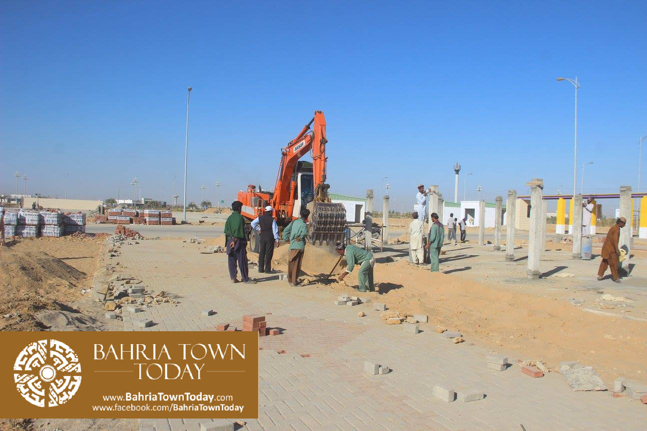 Bahria Town Karachi Latest Progress Update – February 2016 (9)