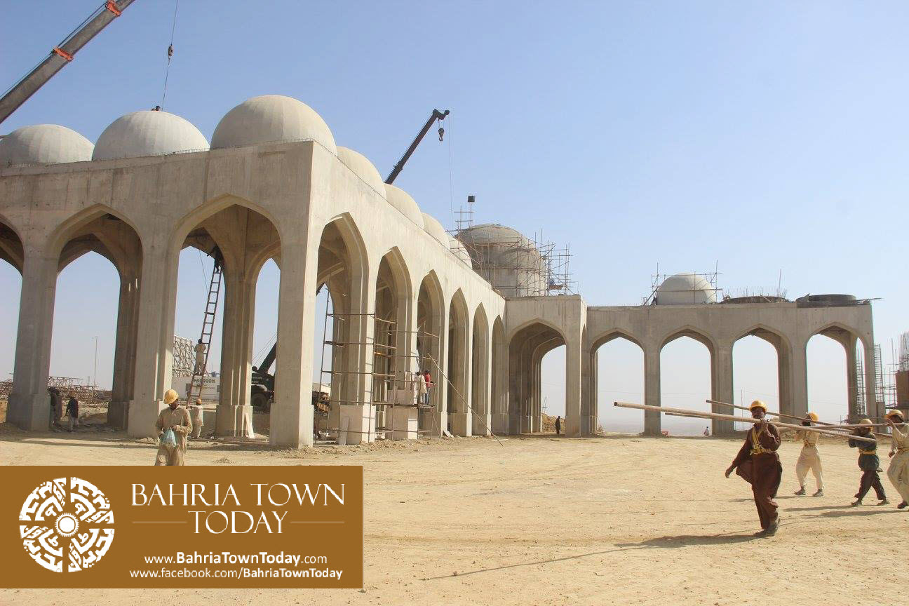 Bahria Town Karachi Latest Progress Update – February 2016 (9)