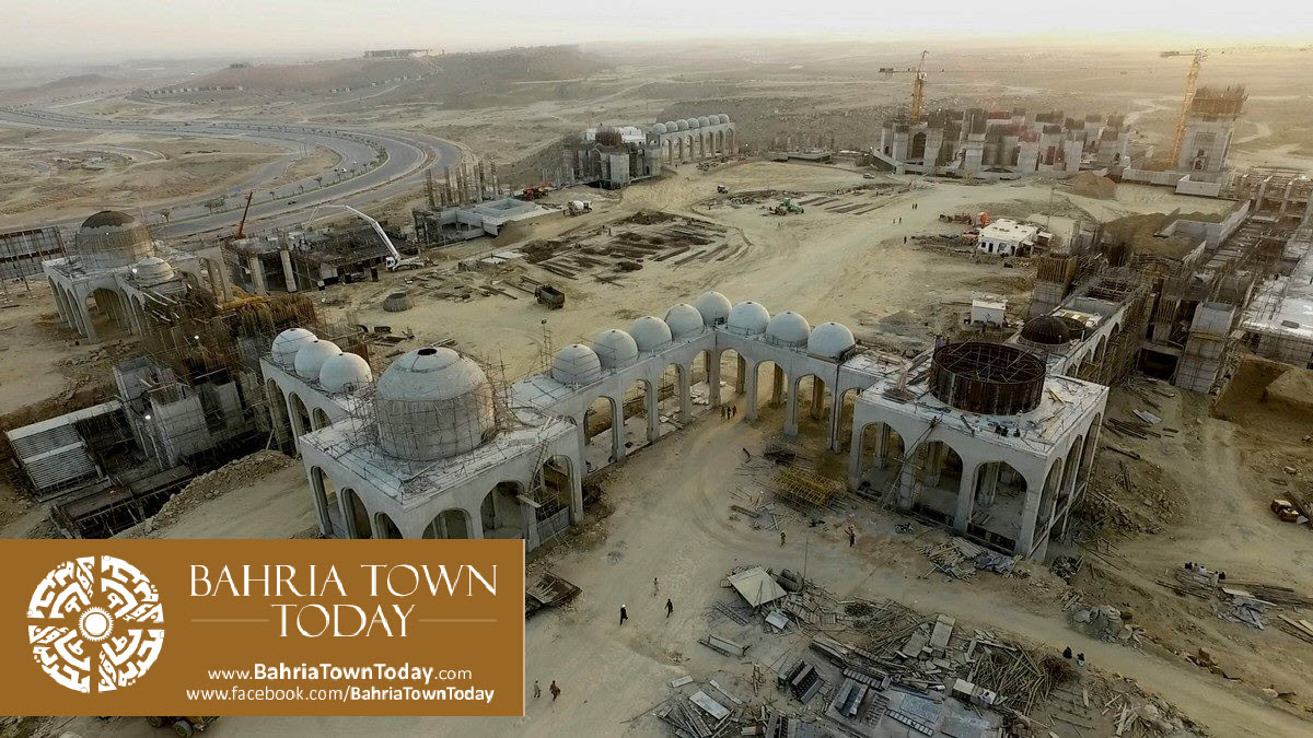 Bahria Town Karachi Latest Progress Update – March 2016 (18)