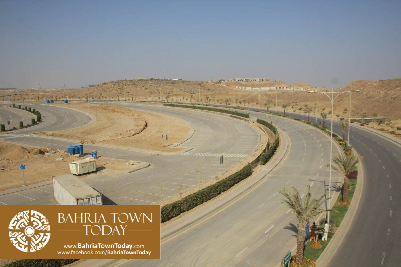 Bahria Town Karachi Latest Progress Update – March 2016 (2)