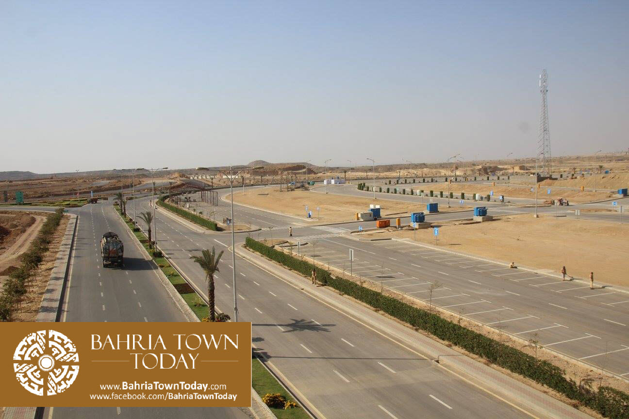 Bahria Town Karachi Latest Progress Update – March 2016 (26)