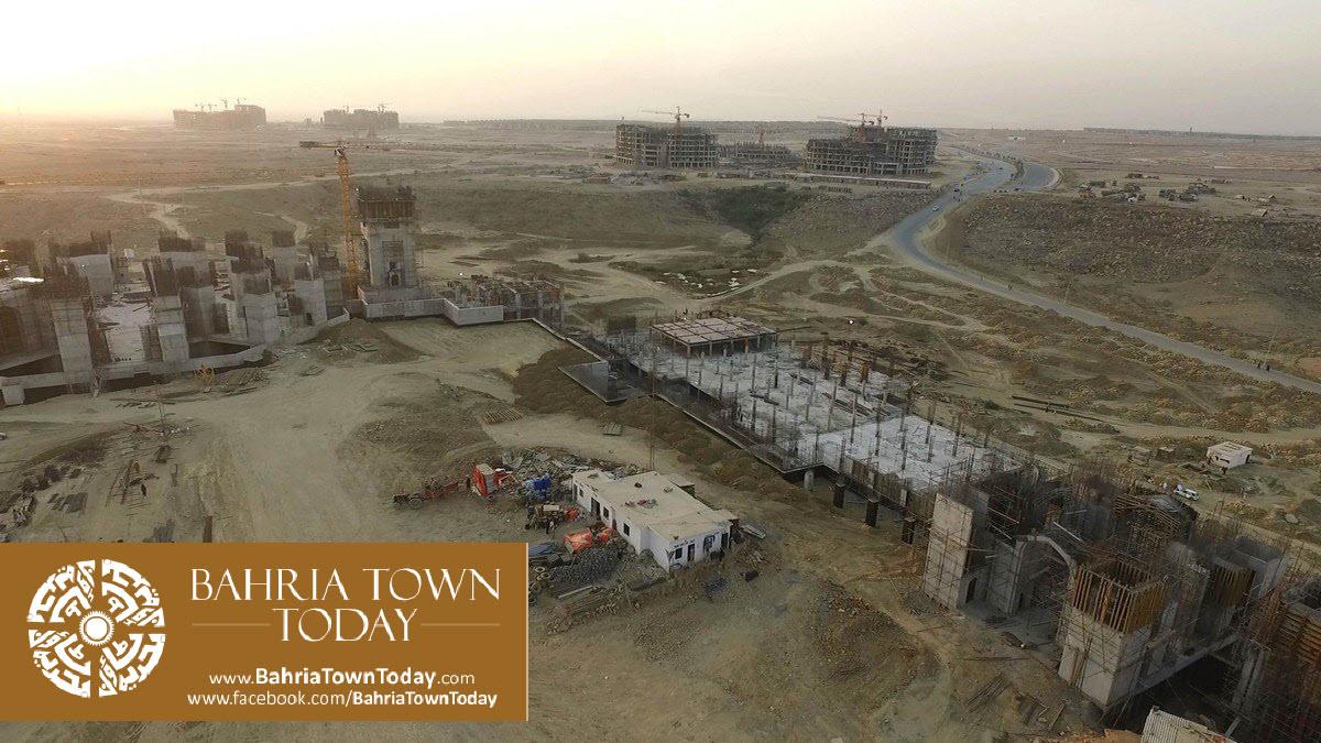 Bahria Town Karachi Latest Progress Update – March 2016 (27)