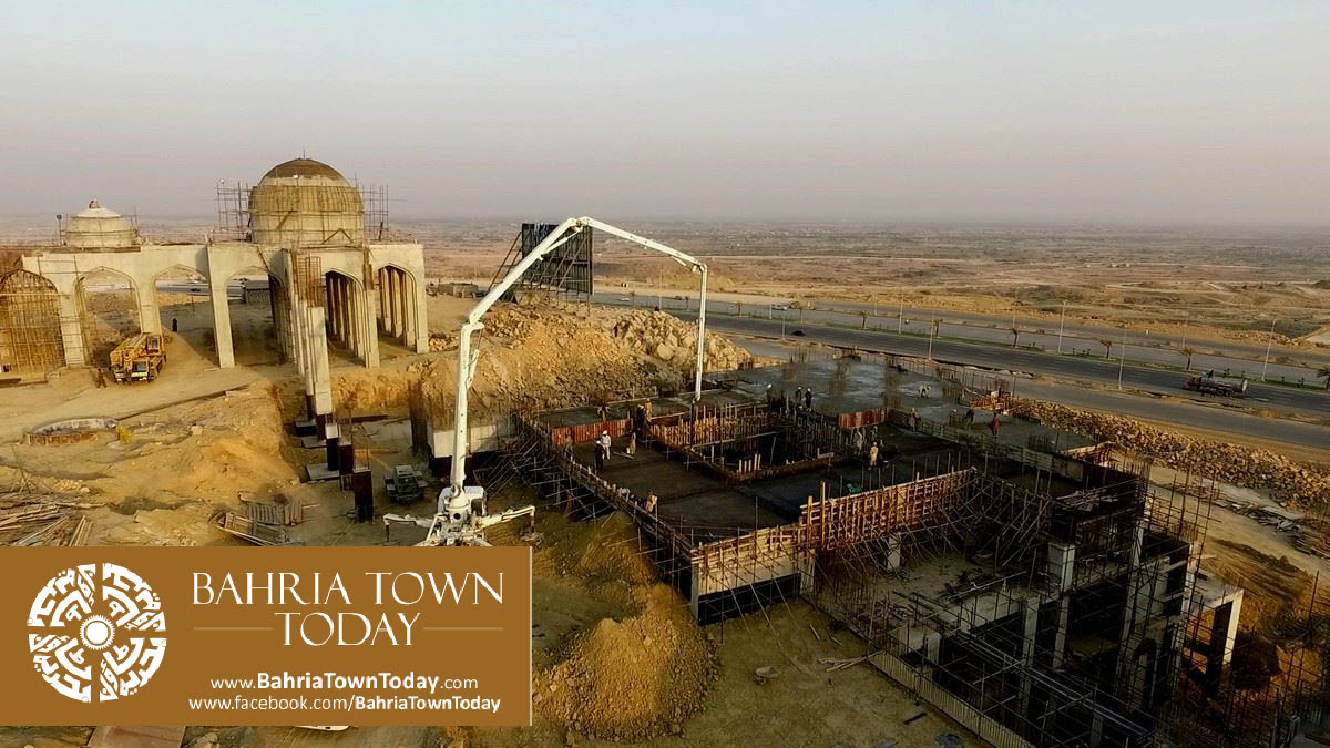 Bahria Town Karachi Latest Progress Update – March 2016 (29)