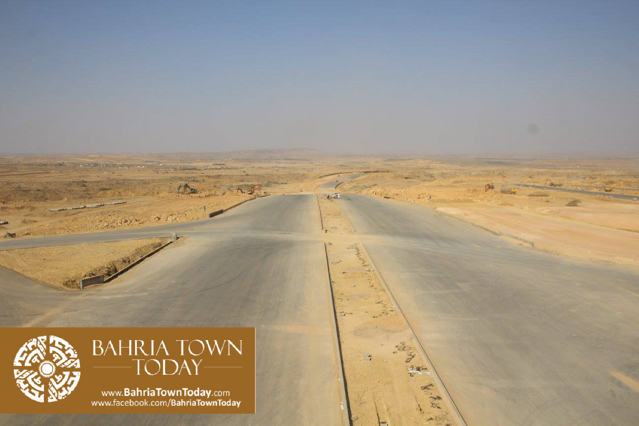 Bahria Town Karachi Latest Progress Update – March 2016 (30)