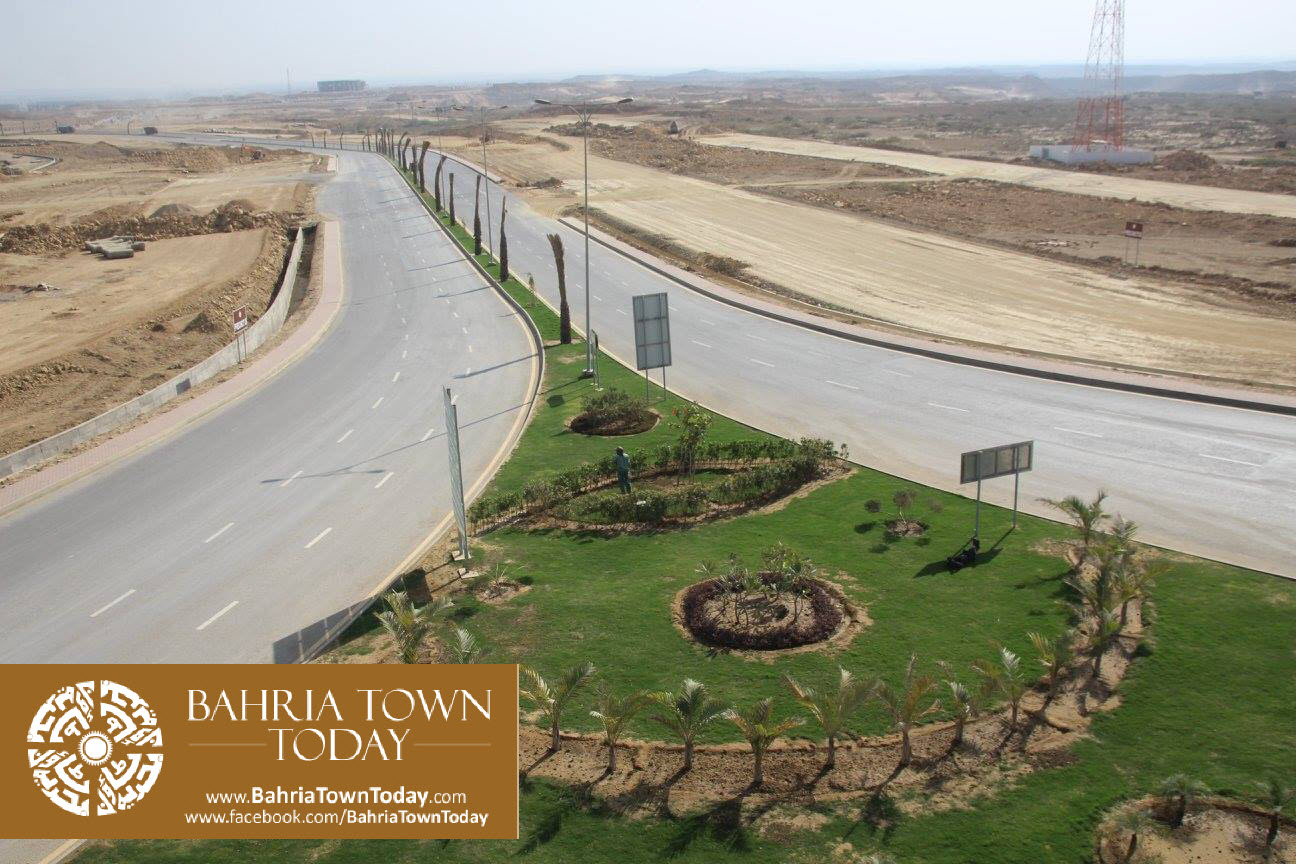 Bahria Town Karachi Latest Progress Update – March 2016 (38)